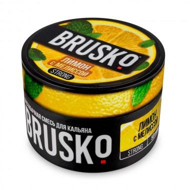 Brusko Лимон с мелиссой 50 гр Strong