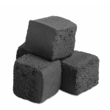 Уголь поштучно большой кубик 25мм 1шт