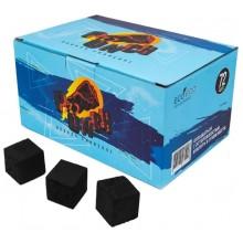 Уголь кокосовый Punch большой кубик 25мм 72шт