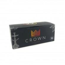 Уголь кокосовый Crown 22мм оригинал 96шт